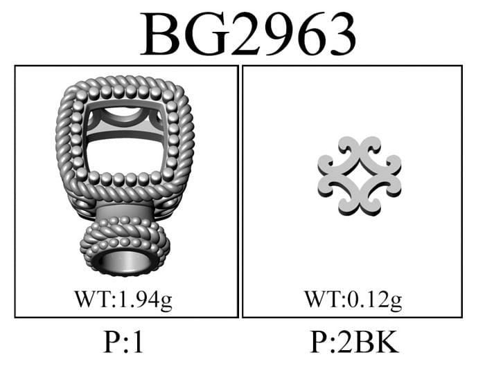 925 Silver & Stainless Steel Garnet Bangle angle