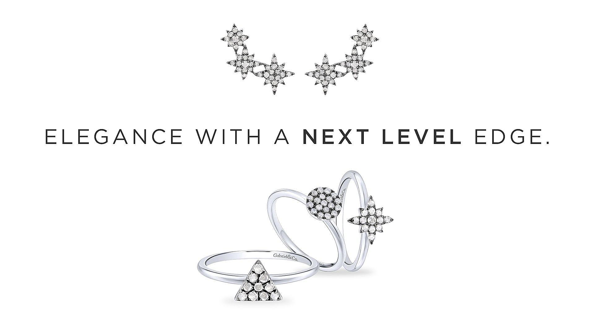 Silver-Candlelight-Diamond-Fashion-Rings