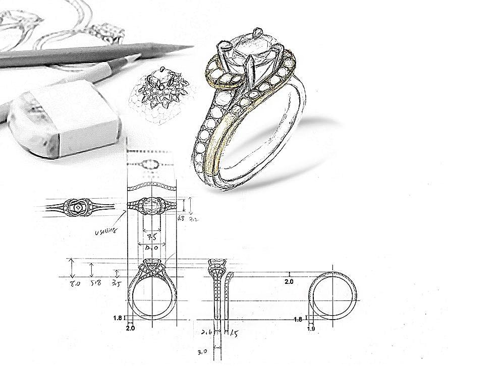 Custom Design Your Dream Engagement Ring Gabriel Co