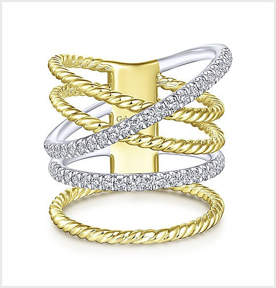 Yellow/white Gold Fashion