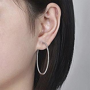 Hoop Earrings Measurements - 40 MM - Gabriel & Co.