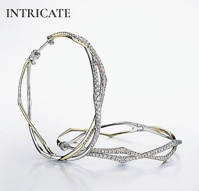 Intricate Hoops - Gabriel & Co.