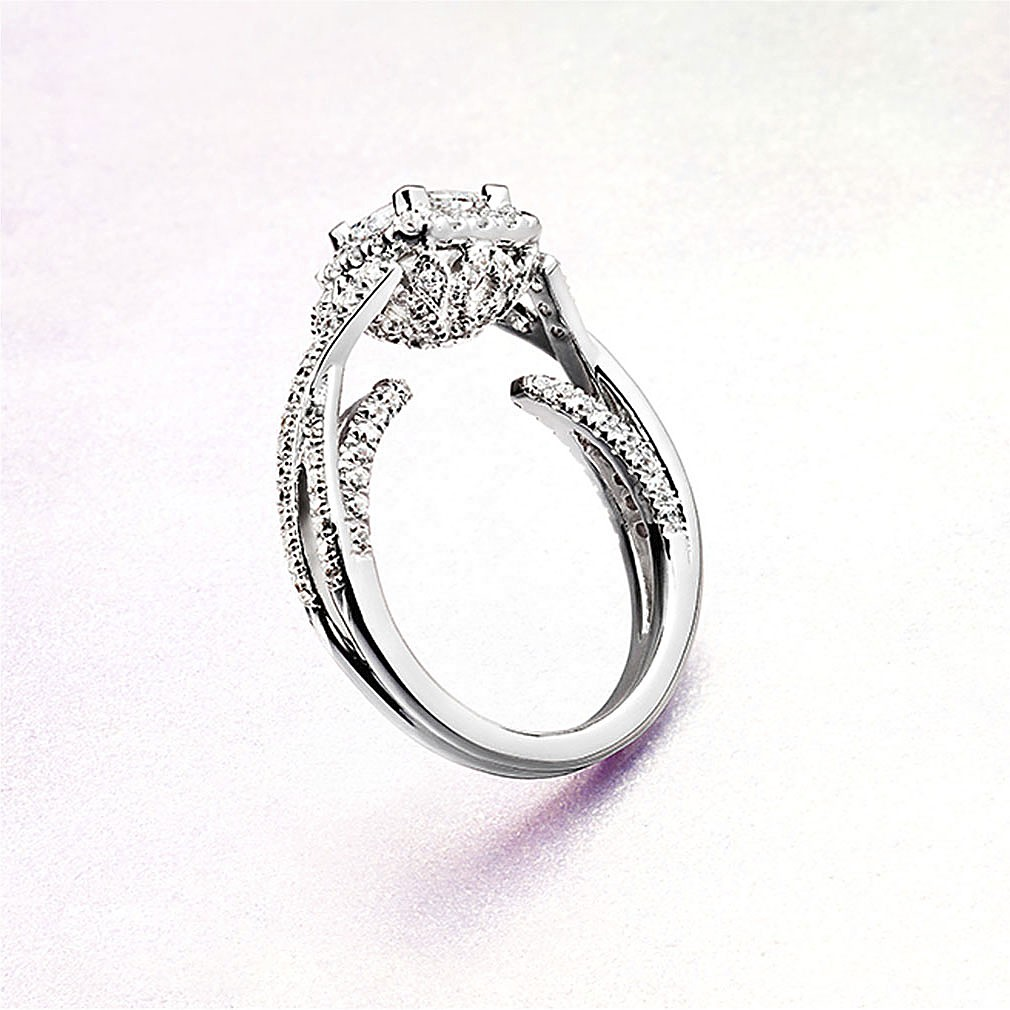Gabriel & Co Engagement Rings Infinity