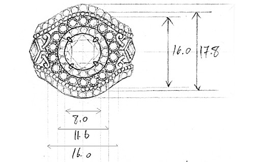 Gabriel - Ring Measurements