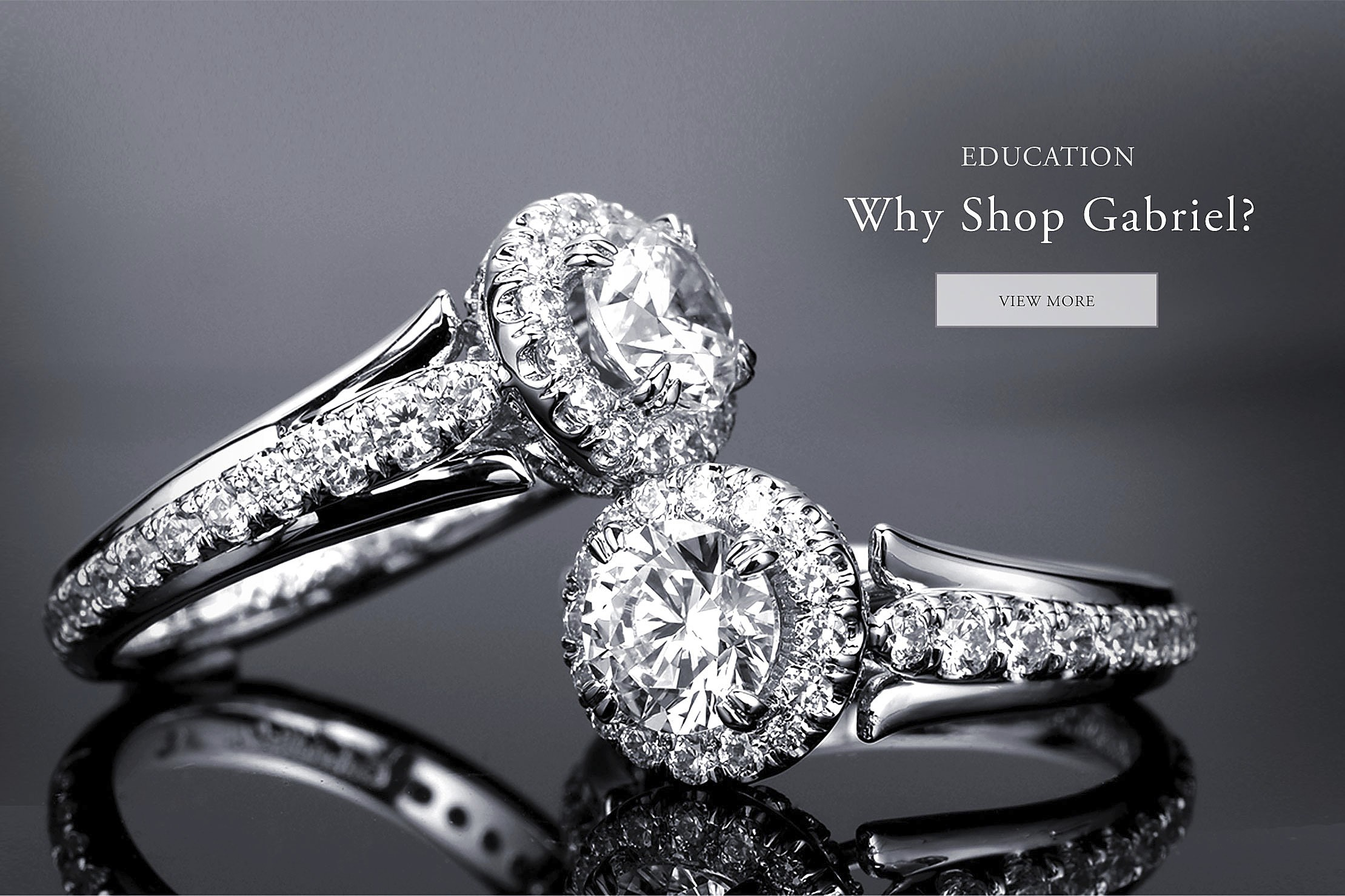 Engagement Ring $ 2,500 Why Shop Gabriel
