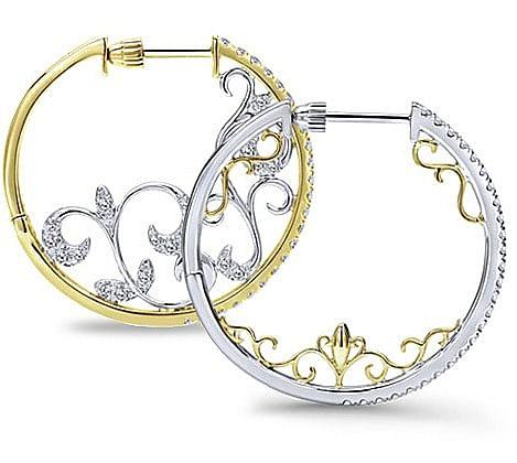 Hoop Earring Intricate