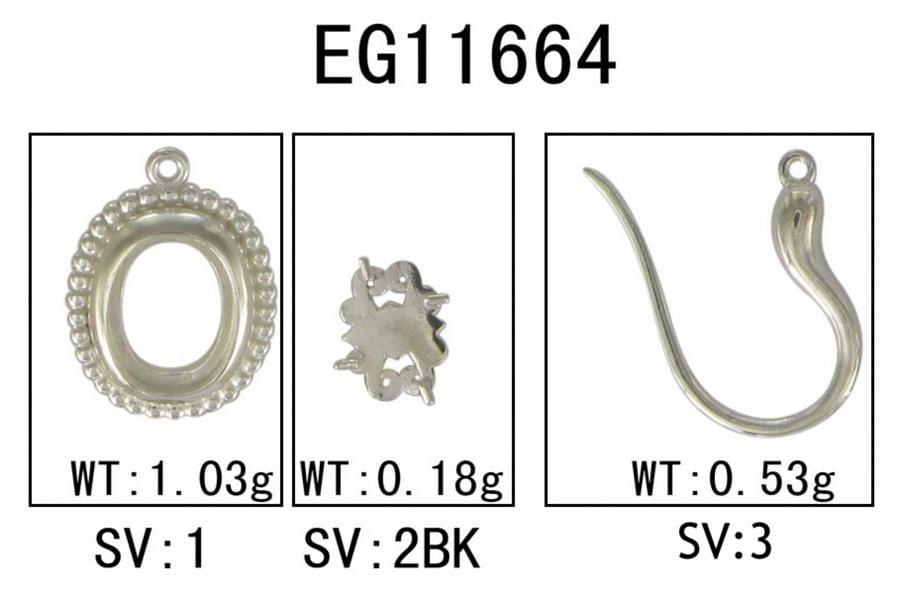 925 Sterling Silver Beaded Oval Garnet Drop Earrings angle