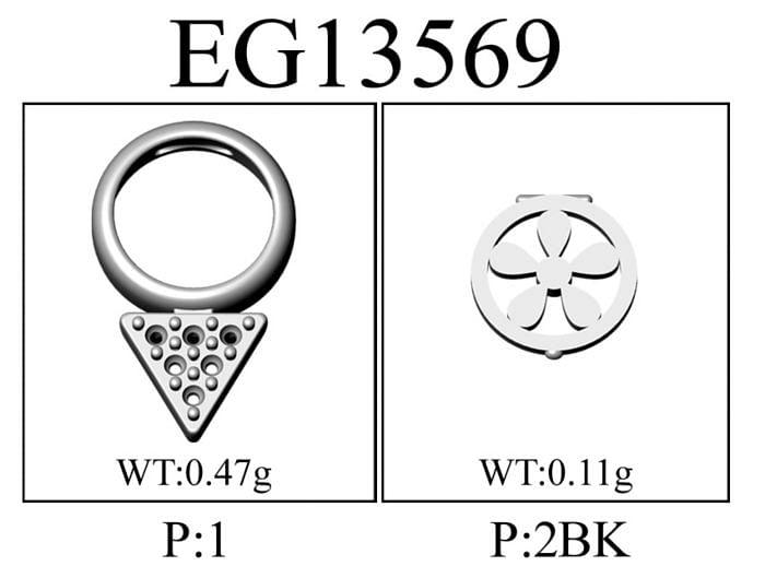 14K Yellow Gold Bezel Garnet and Diamond Cluster Stud Earrings angle