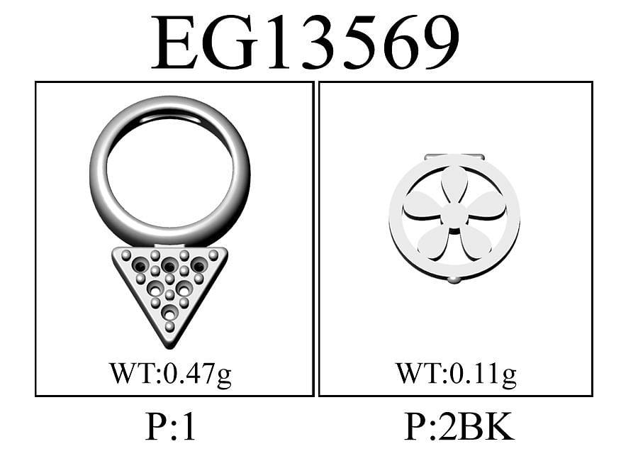 14K Yellow Gold Garnet and Diamond Cluster Stud Earrings