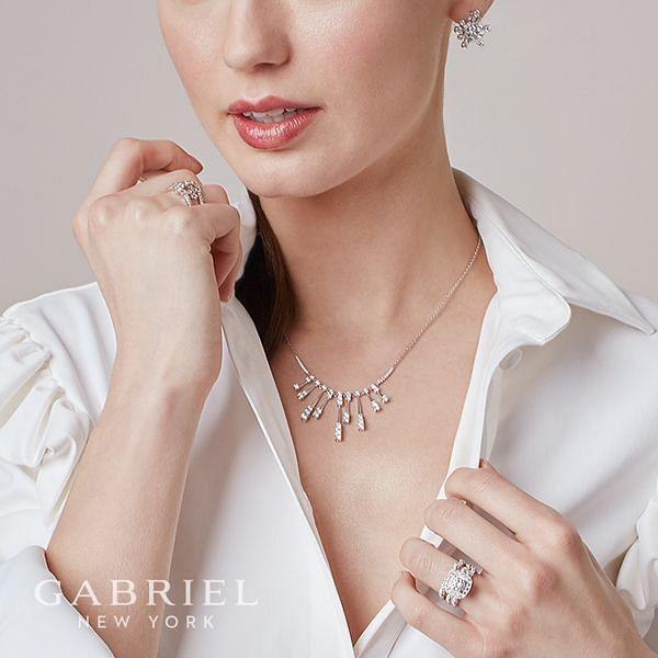 Jennifer 18k White Gold Round Double Halo Engagement Ring angle