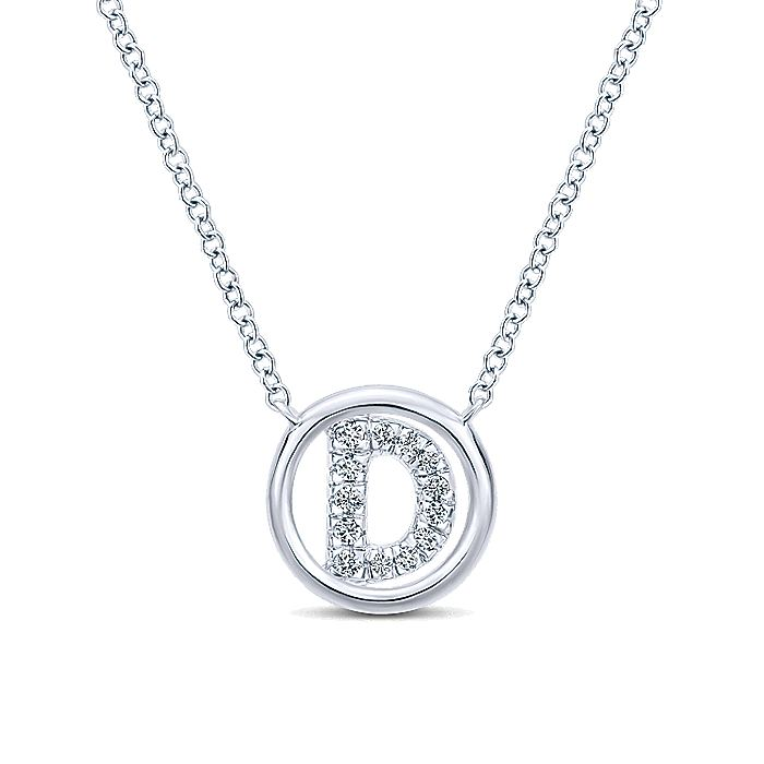 14K White Gold  Diamond