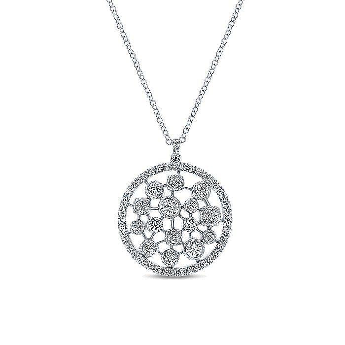 14K White Gold  Fashion Necklace