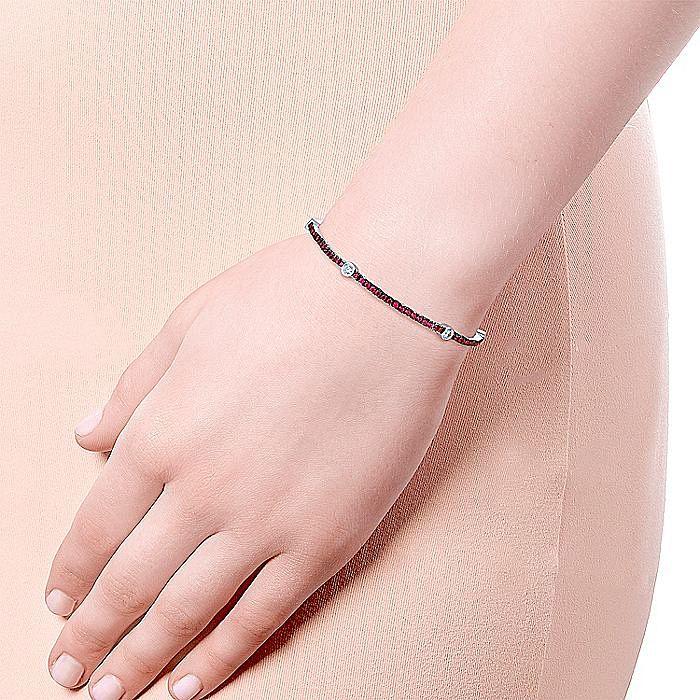 14K White Gold Fashion Bracelet