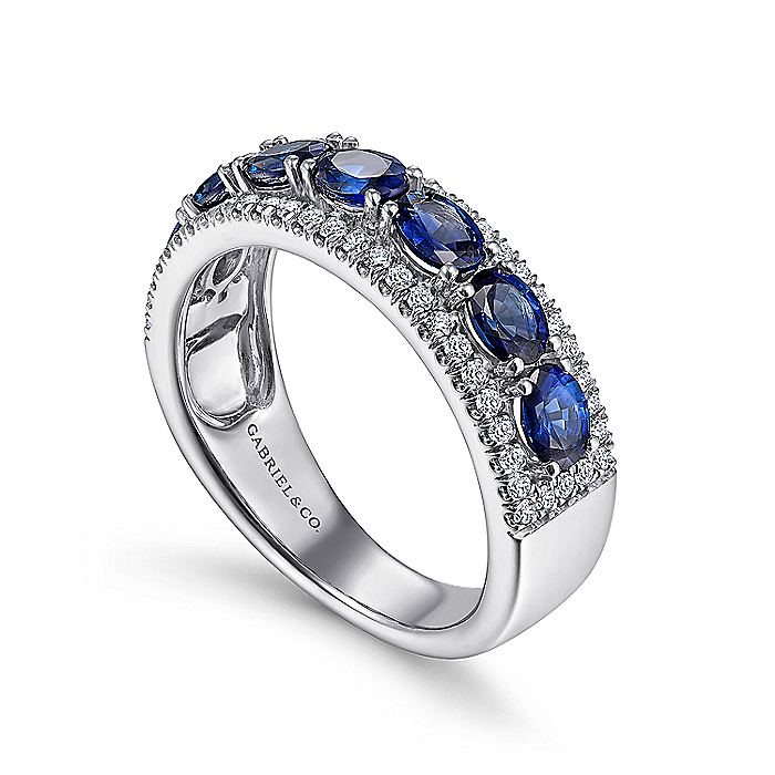 14K White Gold Fashion Ladies Ring