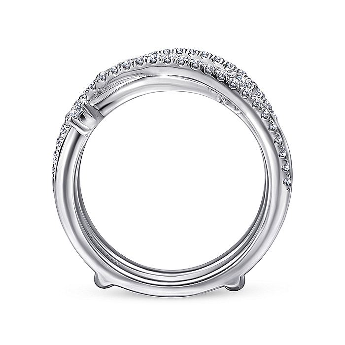 14k White Gold Diamond Enhancer