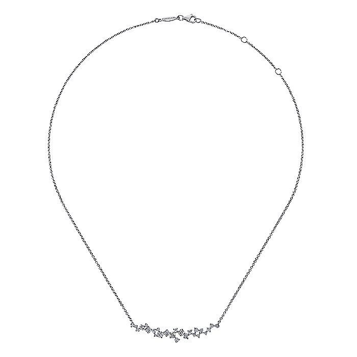 18K White Gold Fashion Necklace