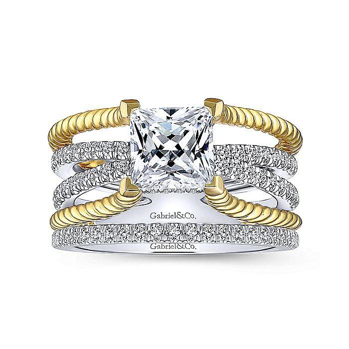 18K White Gold Matching Wedding Band