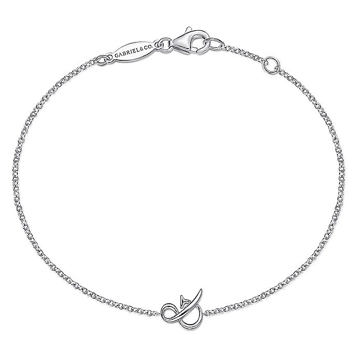 925 Sterling Silver Chain Bracelet with