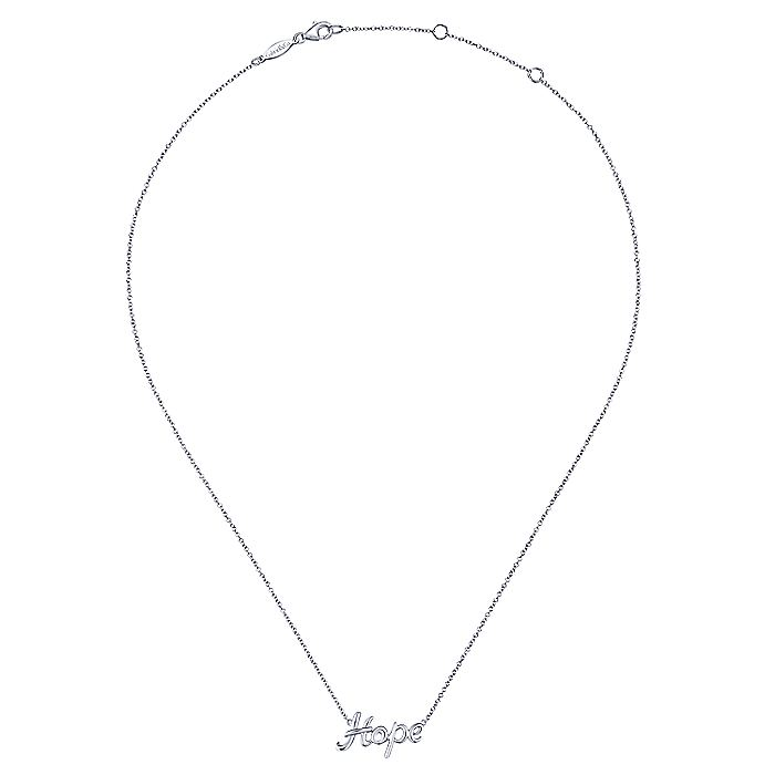 925 Sterling Silver Hope Necklace