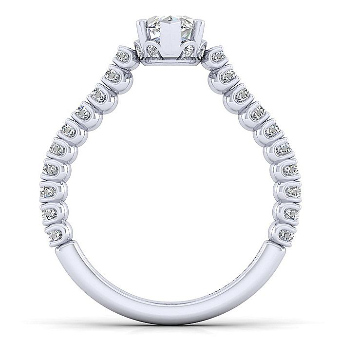 Platinum Marquise Shape Diamond Engagement Ring