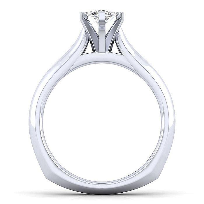 Platinum Marquise Shape Diamond Engagement Ring