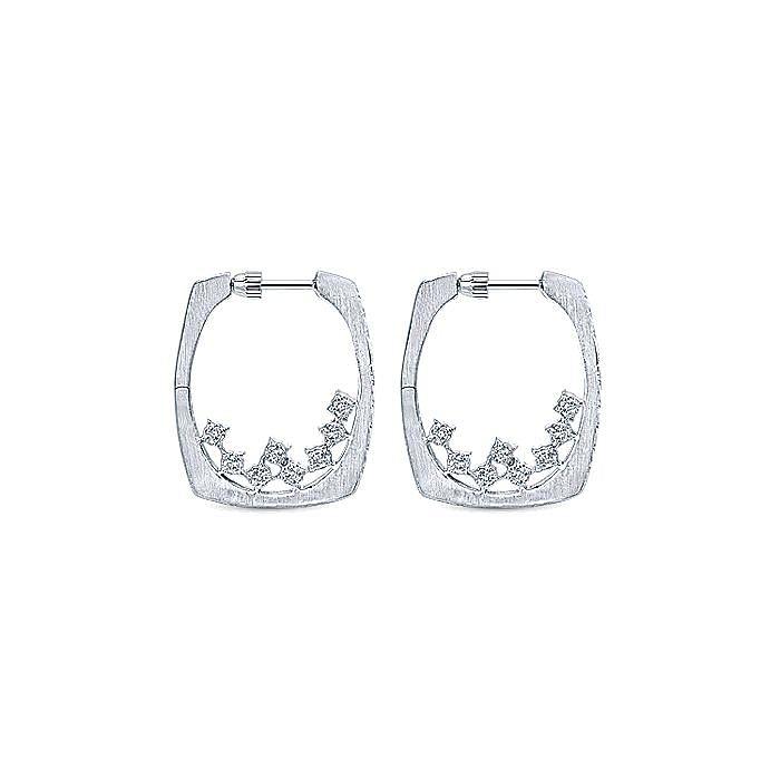 Silver 20MM Fashion Earrings