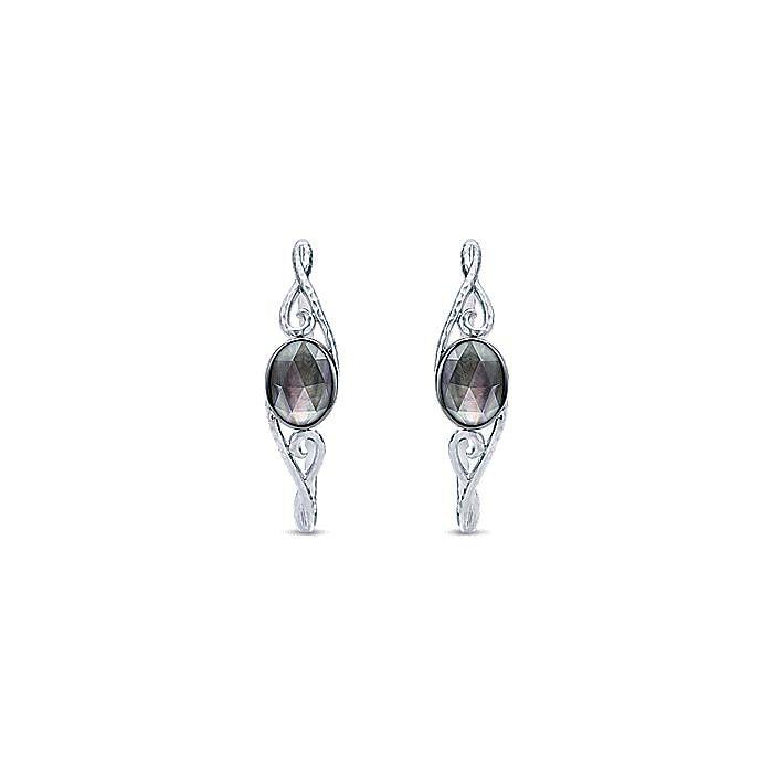 Silver 40MM Fashion Earrings