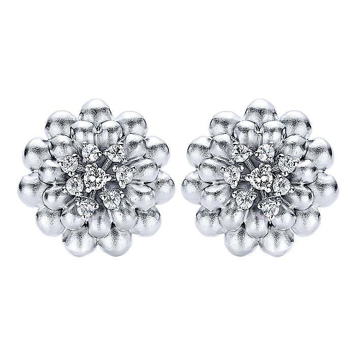 Silver Fashion Earrings