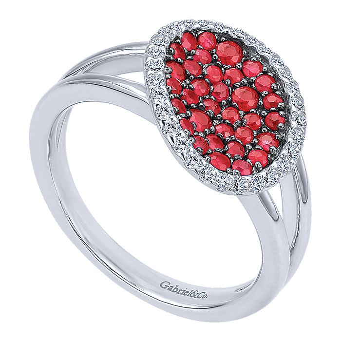 Silver Fashion Ladies Ring