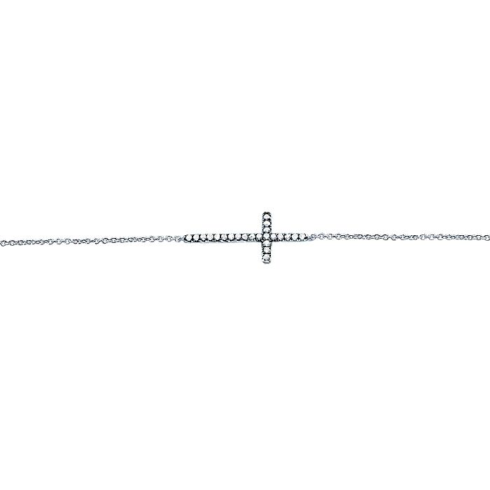 Silver Shadow Play Diamond Bracelet