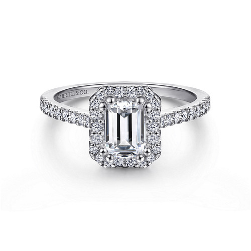 High Quality Emerald Diamond Engagement Ring Wedding Band Fashion Jewellery Surrey Langley Canada