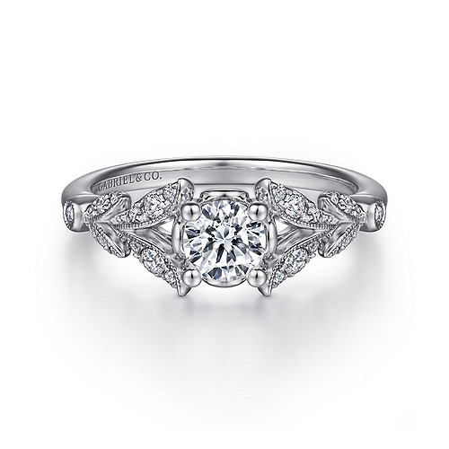 Vintage Antique Engagement Rings Gabriel Co