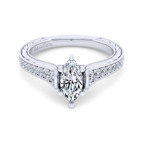 High Quality Marquise Diamond Engagement Ring Wedding Band Fashion Jewellery Surrey Langley Canada
