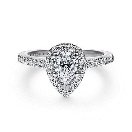 High Quality Pear Diamond Engagement Ring Wedding Band Fashion Jewellery Surrey Langley Canada