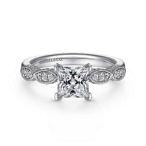 Princess Cut Engagement Rings Gabriel Co