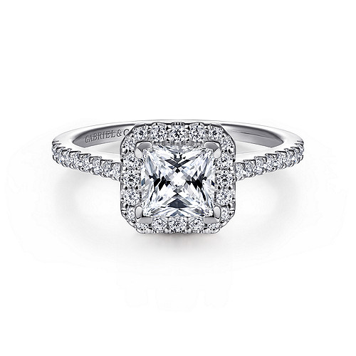 High Quality Princess Diamond Engagement Ring Wedding Band Fashion Jewellery Surrey Langley Canada