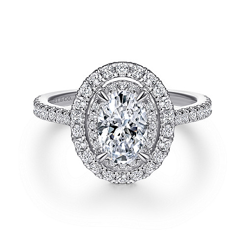 Halo Oval Ring