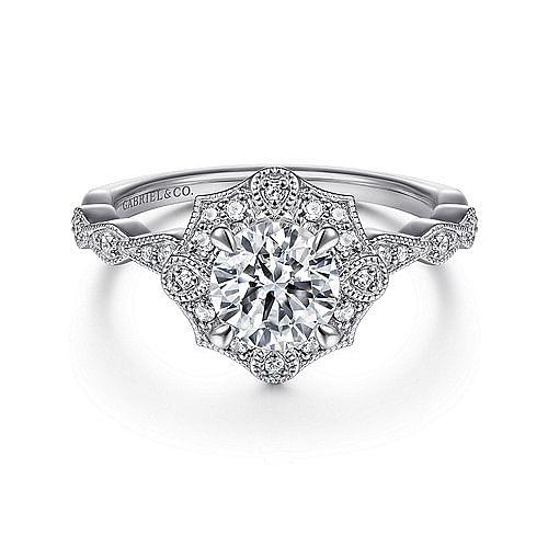 Vintage Engagement Rings Antique Ring Gabriel Co