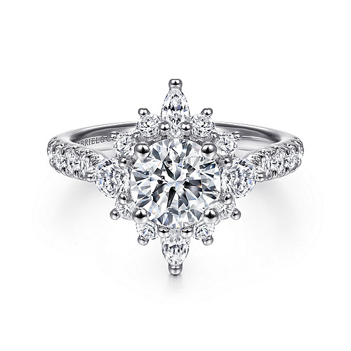 Engagement Rings Customized Diamond Ring Gabriel Co