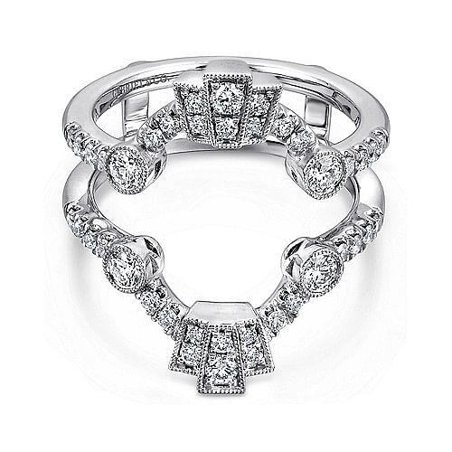 ba76c5728aa6e Vintage 14k White Gold Diamond Enhancer - AN13696M-W44JJ