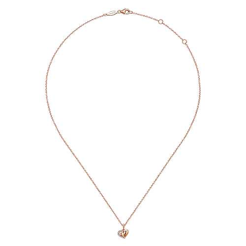 14K Rose Gold  Fashion Necklace
