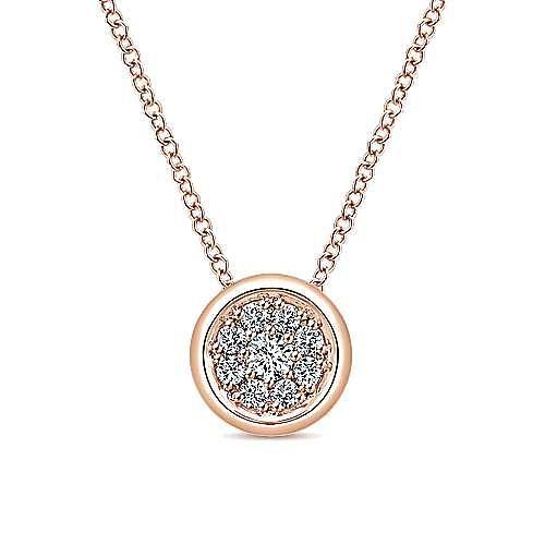 Gabriel - 14K Rose Gold  Fashion Necklace