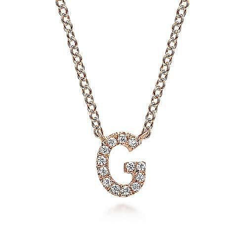 14K Rose Gold Diamond