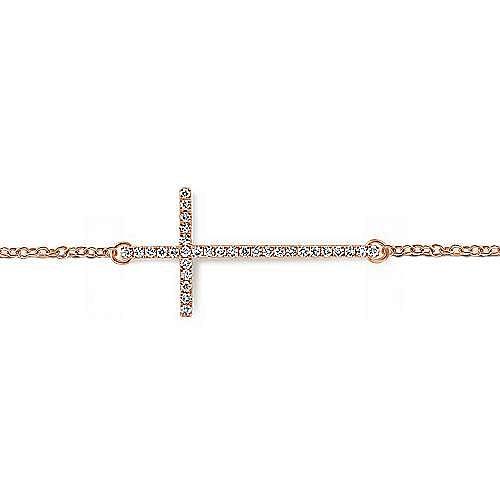 14K Rose Gold Fashion Bracelet