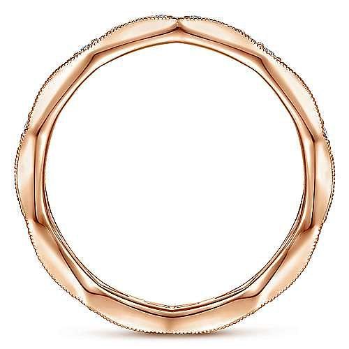 14K Rose Gold Graduating Diamond Eternity Ring