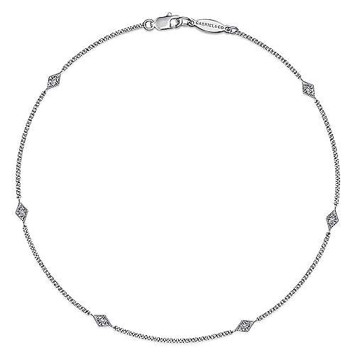 14K White Gold  Fashion Ankle Bracelet