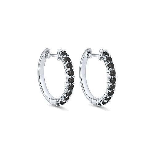 Gabriel - 14K White Gold 15MM Fashion Earrings
