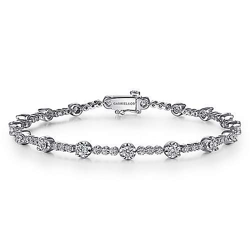Gabriel - 14K White Gold Fashion Bracelet