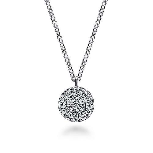 Gabriel - 14K White Gold Fashion Necklace