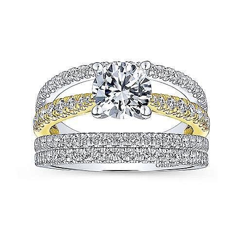 14K White Gold Matching Wedding Band